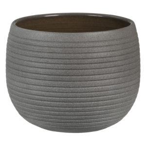 Cache-pot rond naturel – Umber Stone