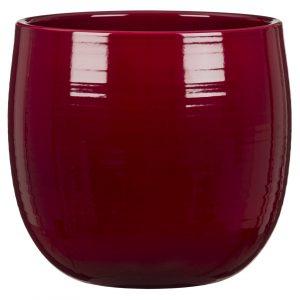 Cache-pot arrondi – Dark Red