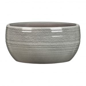 Pot céramique  fini glacé – Glazing Grey