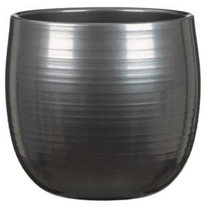 Cache-pot arrondi – Steel