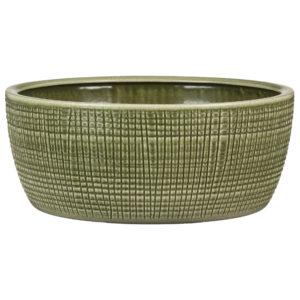 Pot céramique texturé – Menta