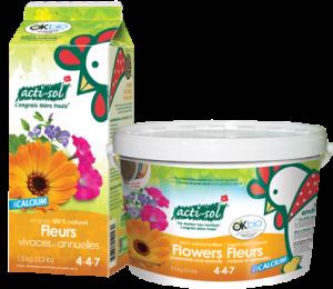 Engrais naturel fleurs vivaces et annuelles 4-4-7 Acti-Sol