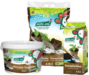 Engrais naturel le transplanteur 4-10-2 Acti-Sol
