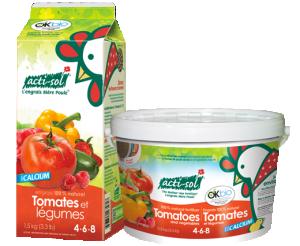 Engrais naturel tomates et légumes 4-6-8 Acti-Sol