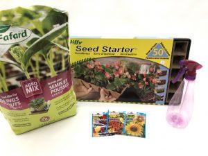 Kit semis fleurs comestibles