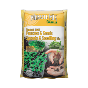 Terreau pour pousses et semis