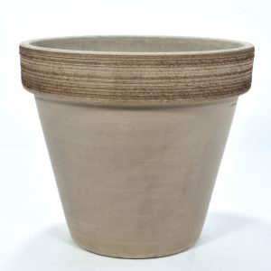 Pot terre cuite standard volcano griff taupe