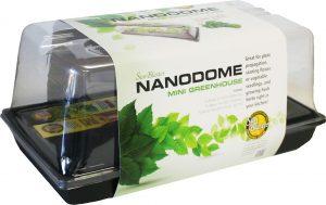 Serre miniature avec lumière Nanodome