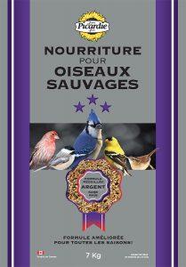 mélange pour oiseaux sauvages Argent