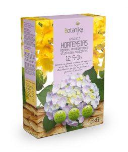Engrais Hortensia 12-5-16 Botanika (hydrangea)