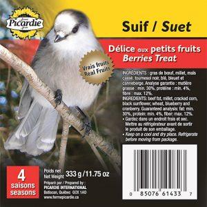 Suif Délice aux petits fruits (4 saisons)
