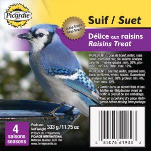 Suif Délice aux raisins (4 saisons)
