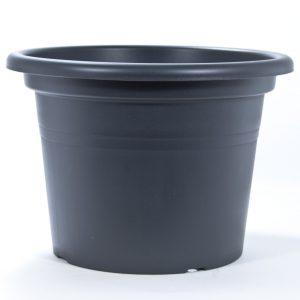 Pot teraplast cilindro anthracite