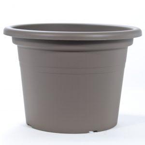 Pot teraplast cilindro brun
