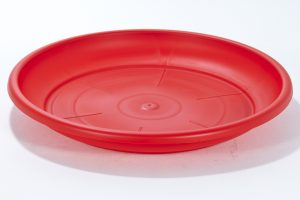 Soucoupe teraplast sottovaso rouge