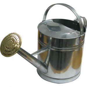 Arrosoir métal brossé