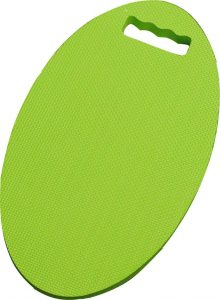 Tapis à genoux oval vert lime