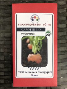 Carotte «Yaya» – Bio