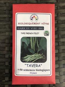 Haricot vert «Tavera» – Bio