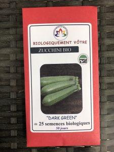 Zucchini vert «Dark Green» – Bio