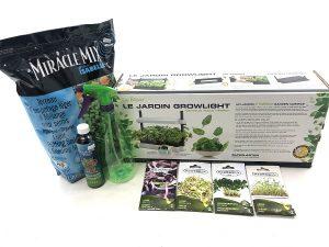 Kit «Petit jardin de micro-pousses»