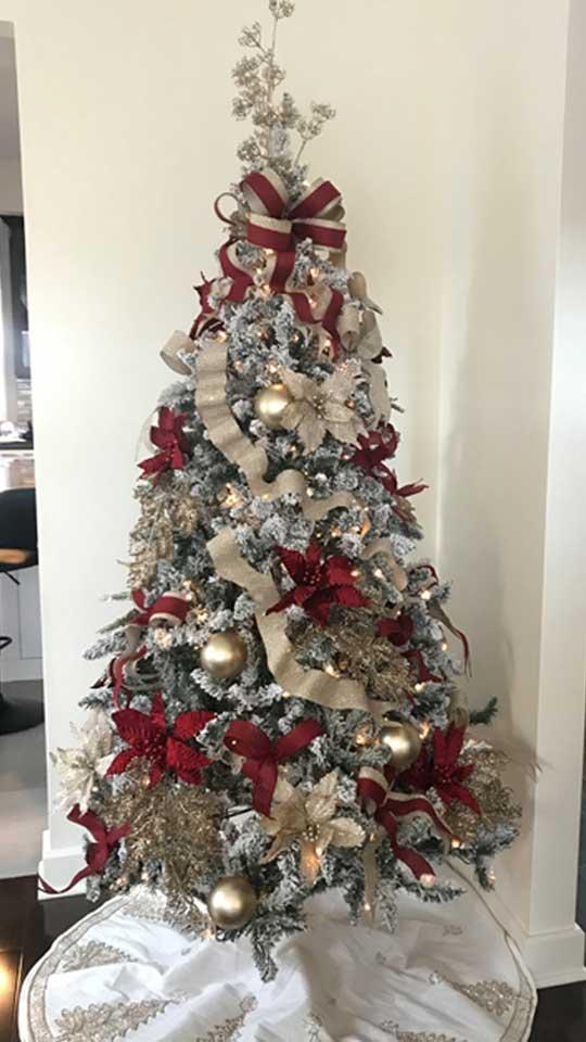 Arbre de Noël sur mesure