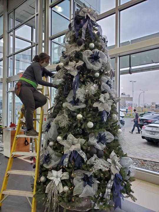 Création d'arbre de Noël personnalisé