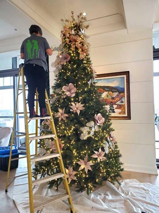 Nous décorons votre arbre de Noël pour vous