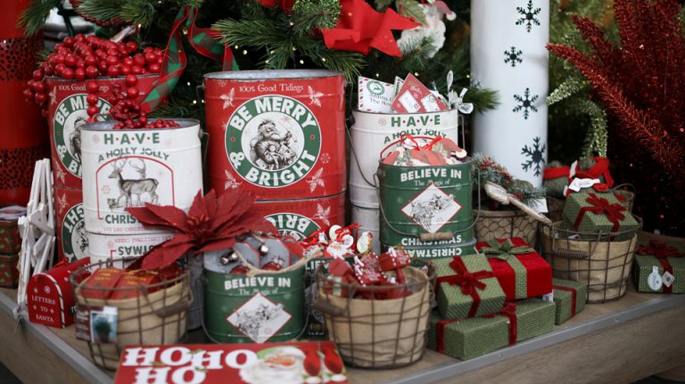 Décorations de Noël rustiques